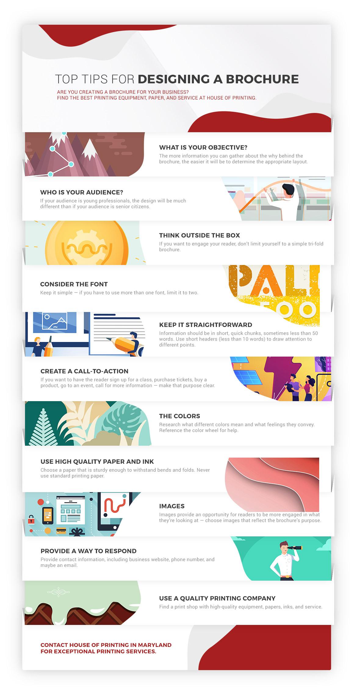 Print Shop Burtonsville: How to Design an Effective Brochure