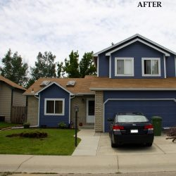 Fresh Coat of Paint on a Fort Collins Home
