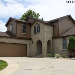 Exterior of Home Painted - Fort Collins | Horner Painting