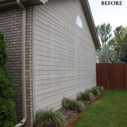 Streaked Weathered Home Before Painting | Horner Painting