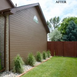 Fort Collins Home Exterior With Fresh Tan Paint