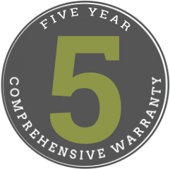 Five-Year Warranty Badge