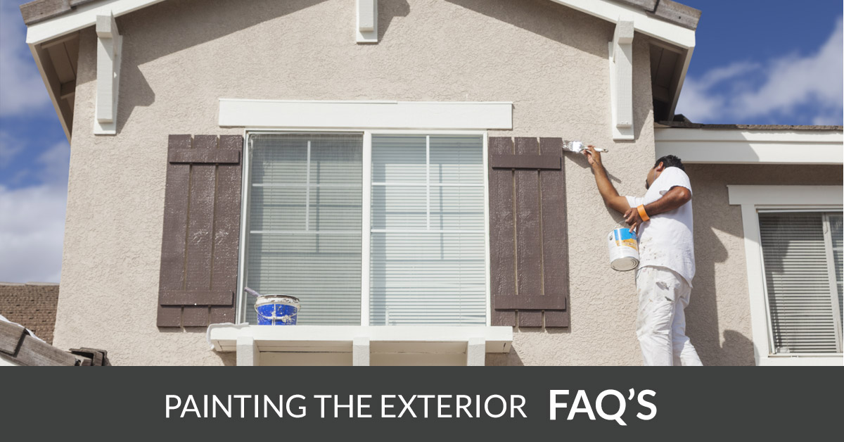 Exterior Painting FAQs