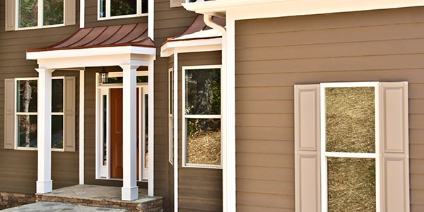 Home With Brown Exterior Paint