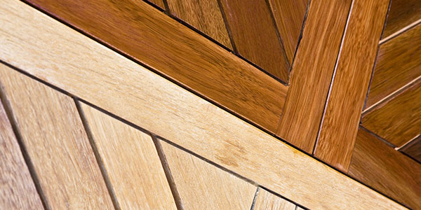 Stained and Unstained Wood