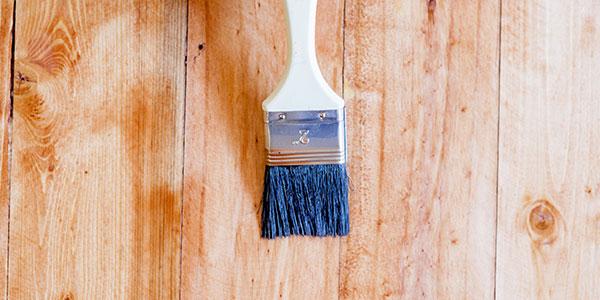 Paint Brush With Varnish
