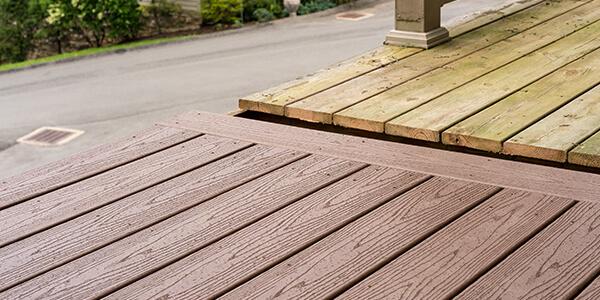 Deck Half Painted