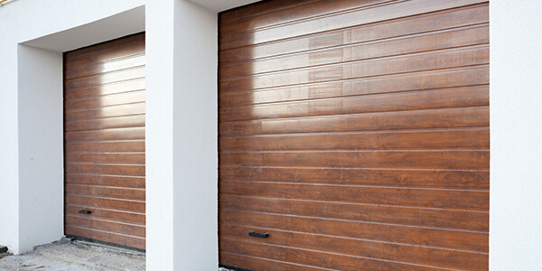 Finished Wood Garages