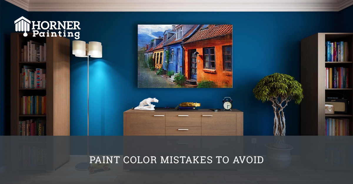 Paint Color Mistakes to Avoid