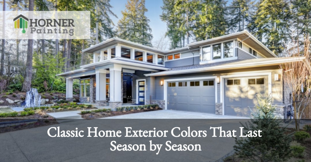 Classic Home Exterior Colors Banner