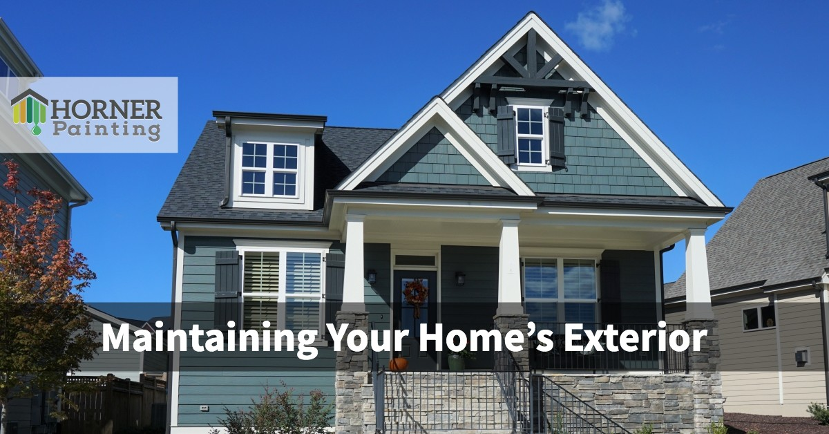 Maintaining Your Home's Exterior Banner