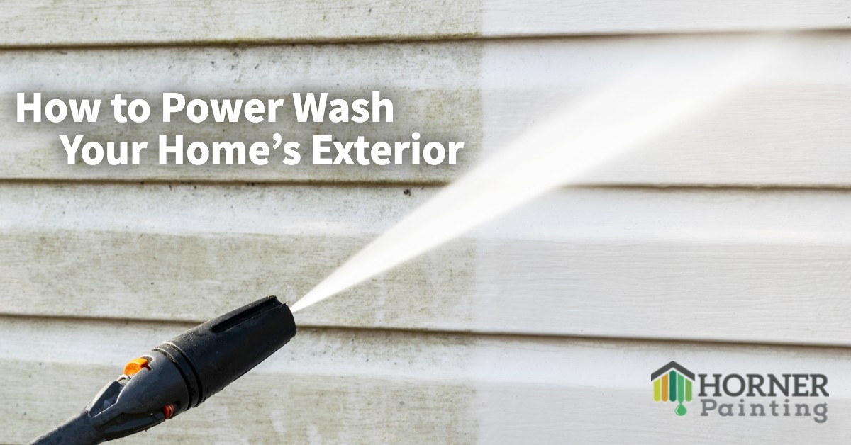 How to Power Wash Your Home's Exterior Banner