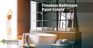 Timeless Bathroom Paint Colors Banner