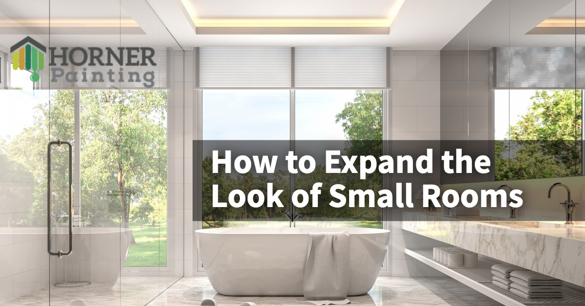 How to Expand the Look of Small Rooms Banner