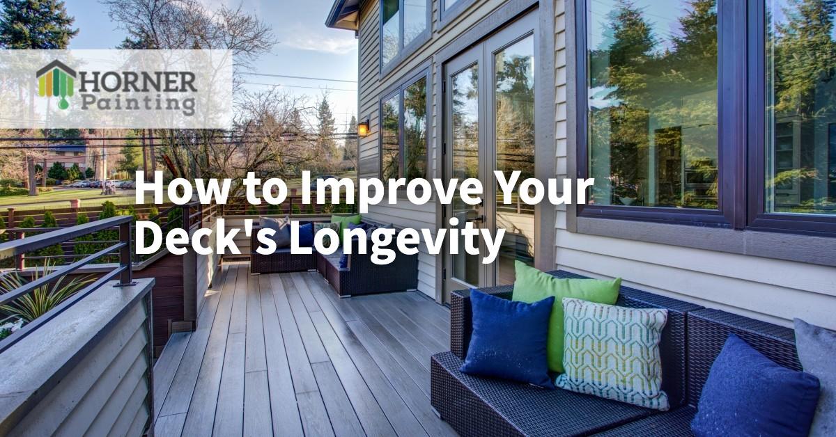 How to Improve Your Deck's Longevity