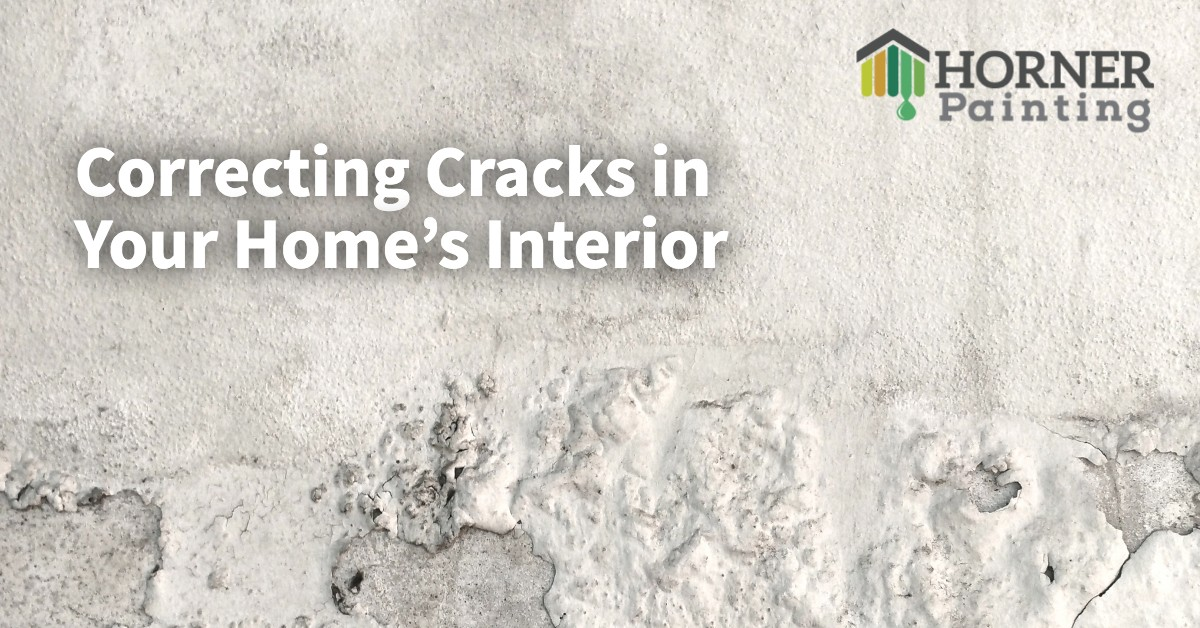 Correcting Cracks in Your Home's Interior
