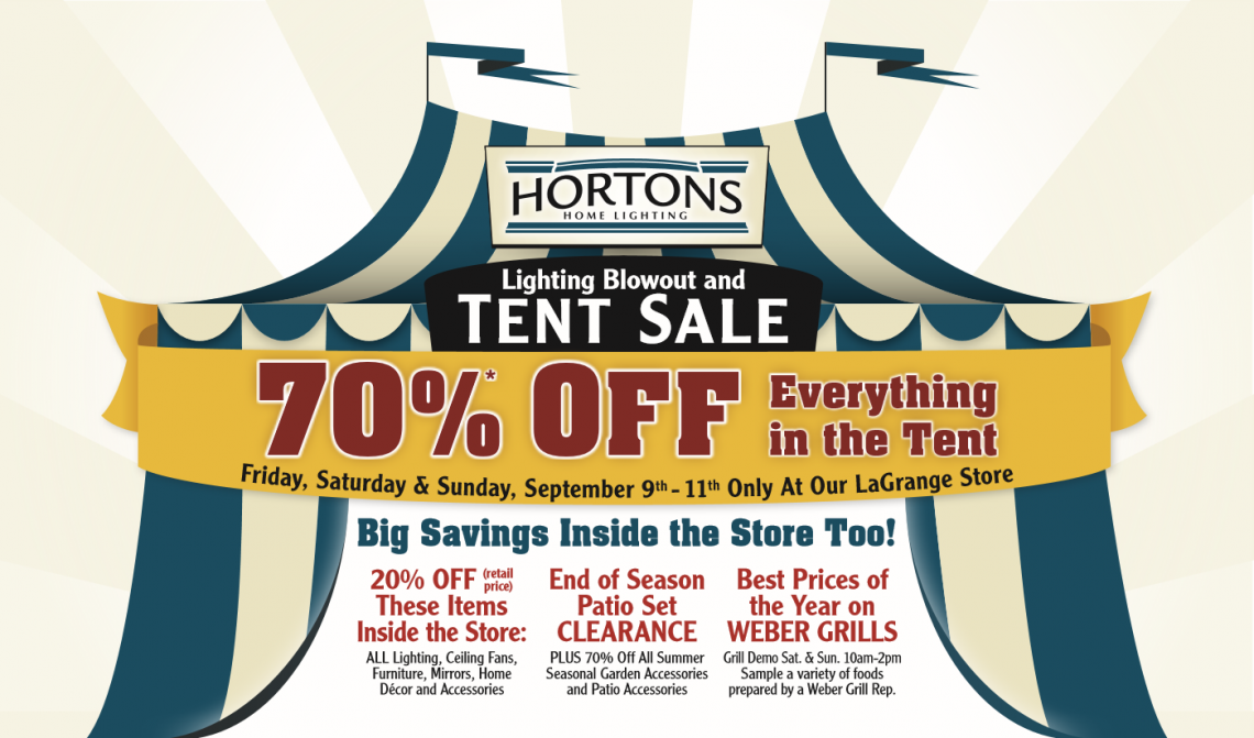 Tent sale 2  sc 1 st  Hortons Home Lighting & The Lighting Blowout u0026 Tent Sale is Here | Hortons Home Lighting azcodes.com