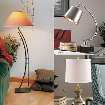 Floor Lamps And Table Lamps From Hortons In La Grange