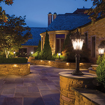 Outdoor Lighting Fixtures from Hortons Home Lighting
