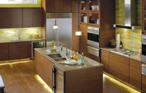Kichler_Linear_GreenKitchen2