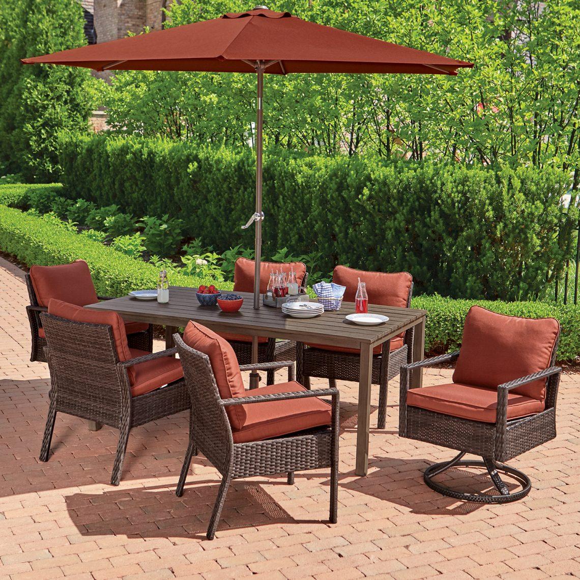 outdoor furniture la grange transform your backyard patio rh hortonshome com la garden furniture covers la garden furniture set