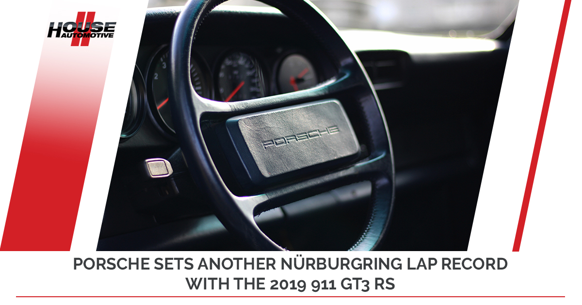Porsche Sets Another Nürburgring Lap Record With The 2019 911 GT3 RS