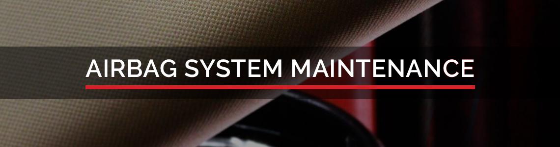 HOUSE Auto Airbag System Maintenance