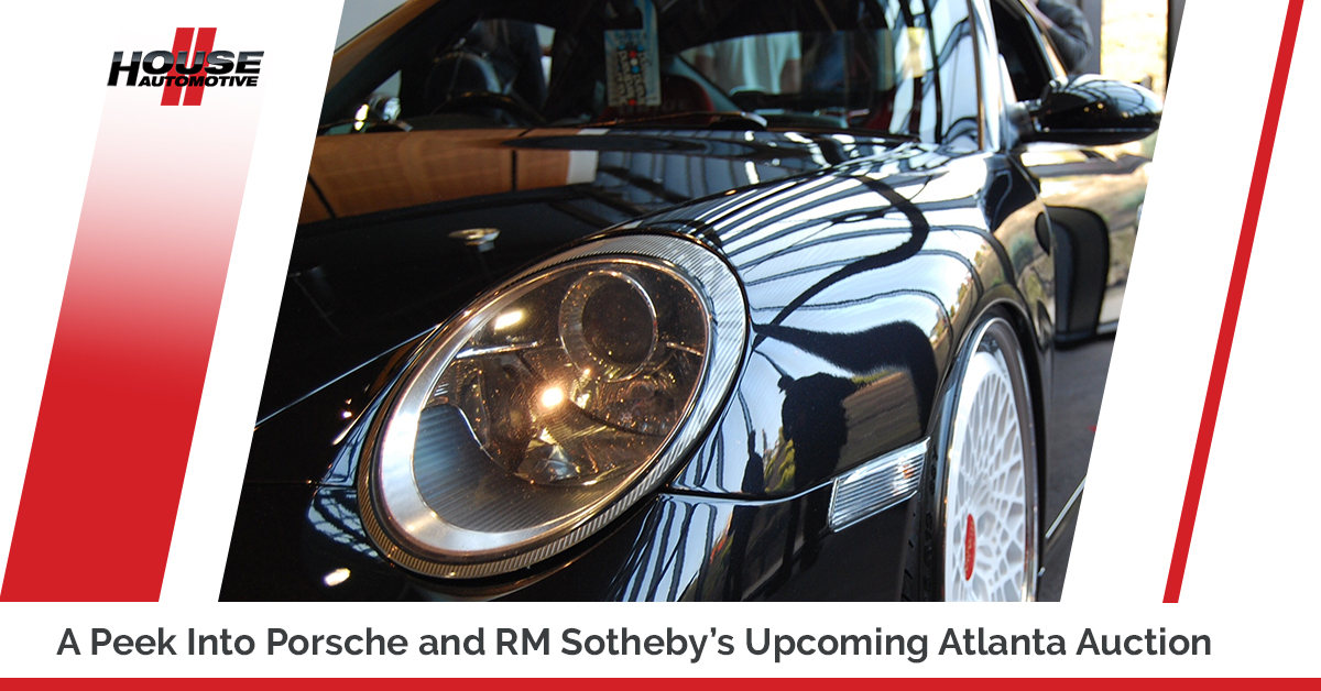 A Peek Into Porsche and RM Sotheby's Upcoming Atlanta Auction