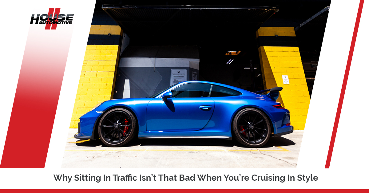Why Sitting In Traffic Isn't That Bad When You're Cruising In Style