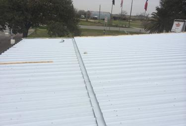 Houser Roofing - New metal sheet roof in South Texas