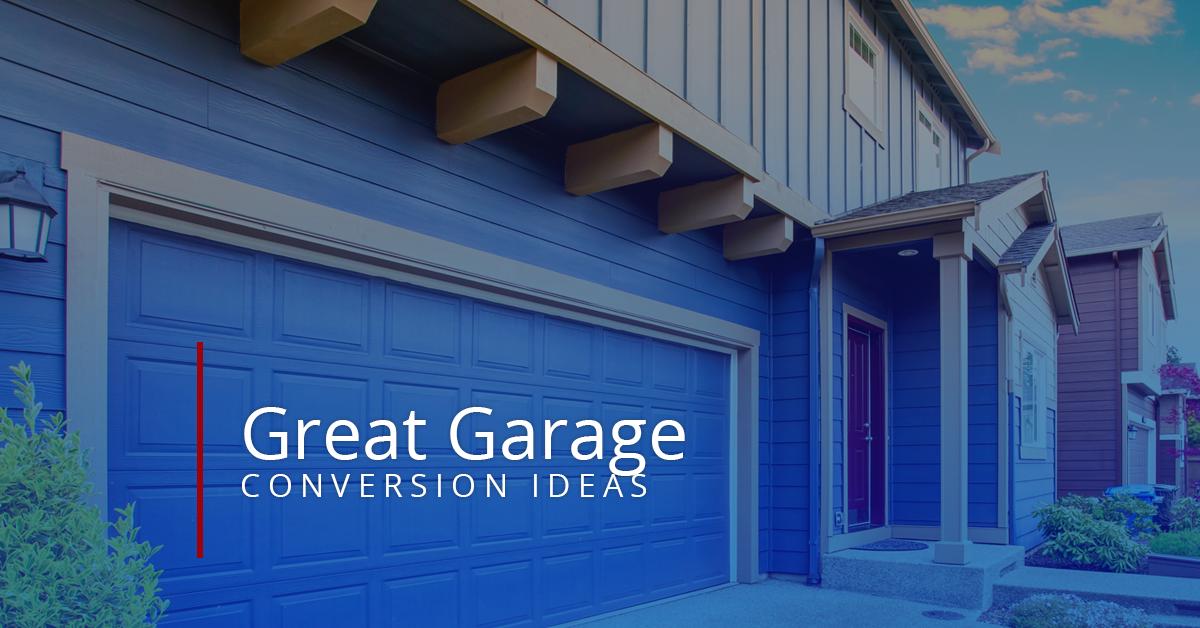 5 Great Garage Conversion Ideas Houston House Floor Plans