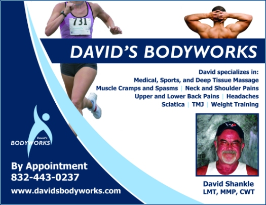 Get premium massage therapy from David's Bodyworks!