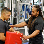 Get personal training with Reggie Crawford!