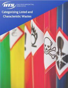 categorizing hazardous wastes