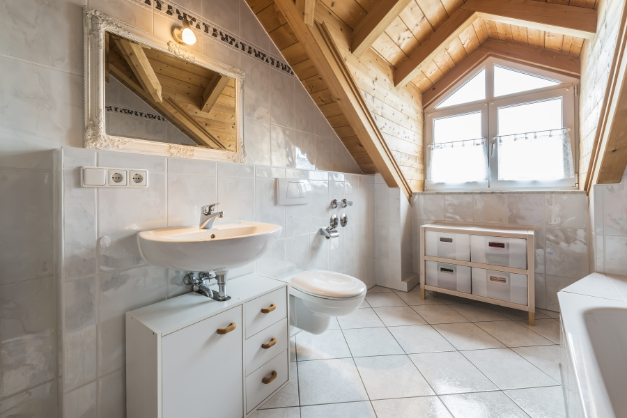 Hubbard Plumbing can help with your bathroom redesign.