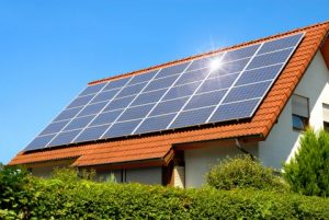 Add solar panels for alternative energy in your home!