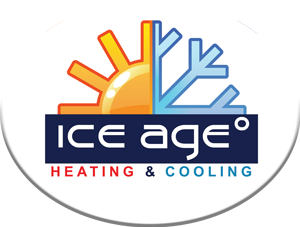Ice Age Heating and Cooling