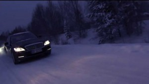 mercedes winter drive