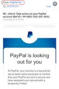 paypal scam pic1
