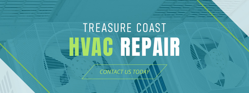 Call to action for HVAC repair services in the Treasure Coast area.