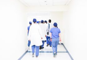 An image of health care workers.