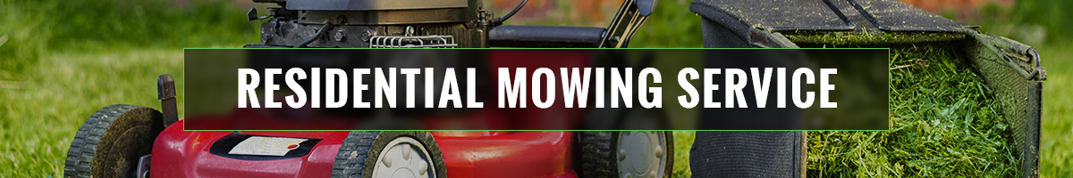 Residential Mowing Services