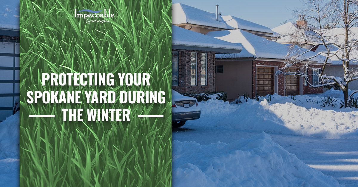 bc2584df928 December is traditionally the snowiest month in Spokane. Even though it  seems like you have just prepped your yard with fall lawn care services, ...