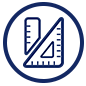 Indy STEAM Academy ruler icon