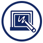 Indy STEAM Academy technology icon