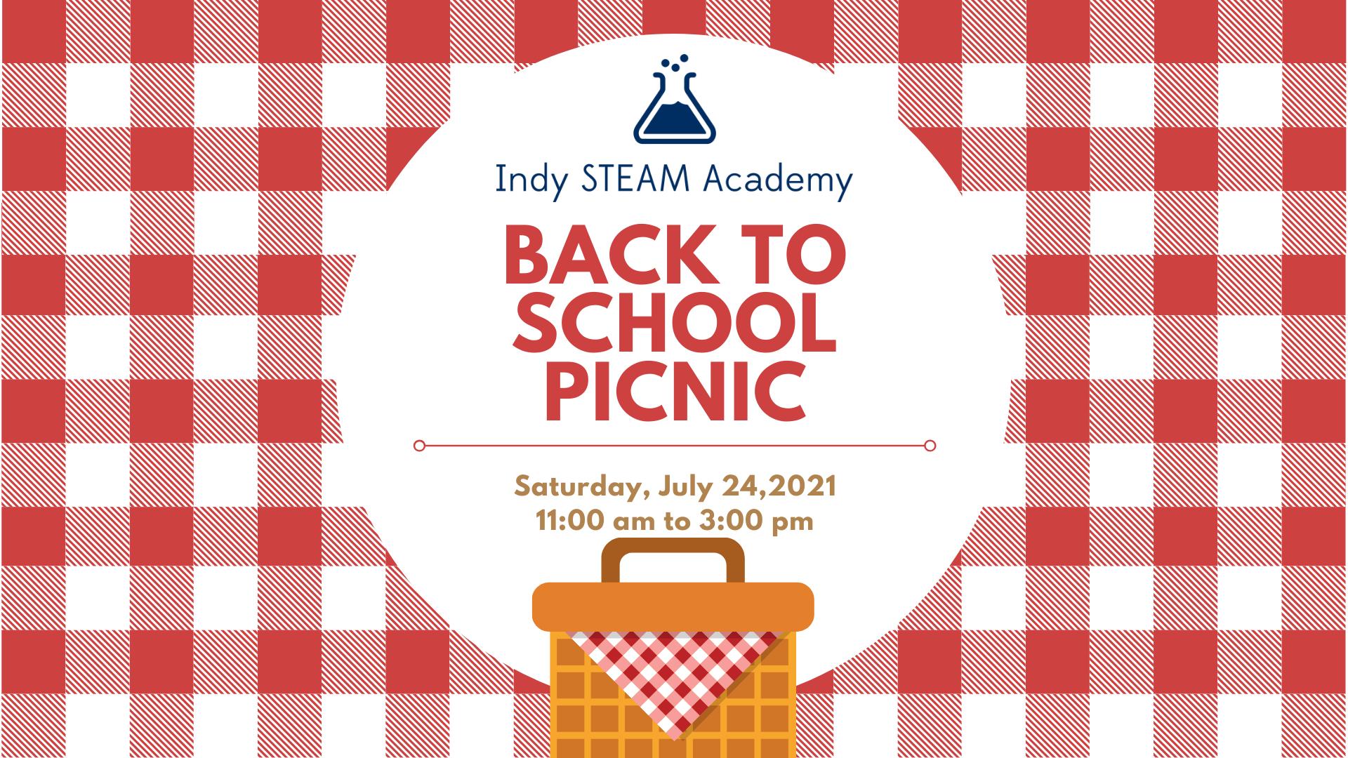 Indy STEAM picnic flyer