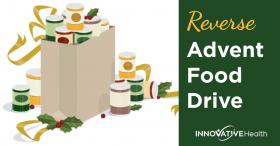 Reverse Advent Food Drive Innovative Health Weston