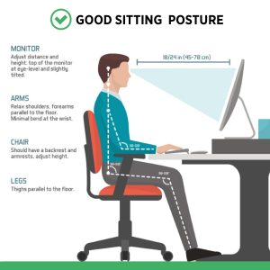ergonomics sit good posture