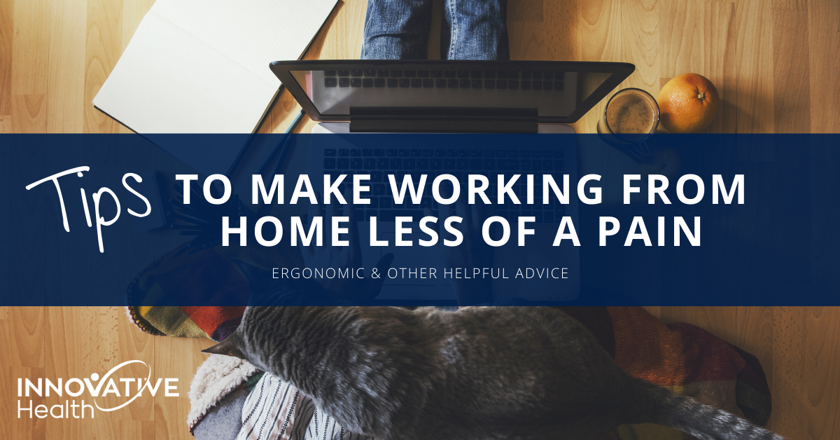 Innovative Health work from home blog image