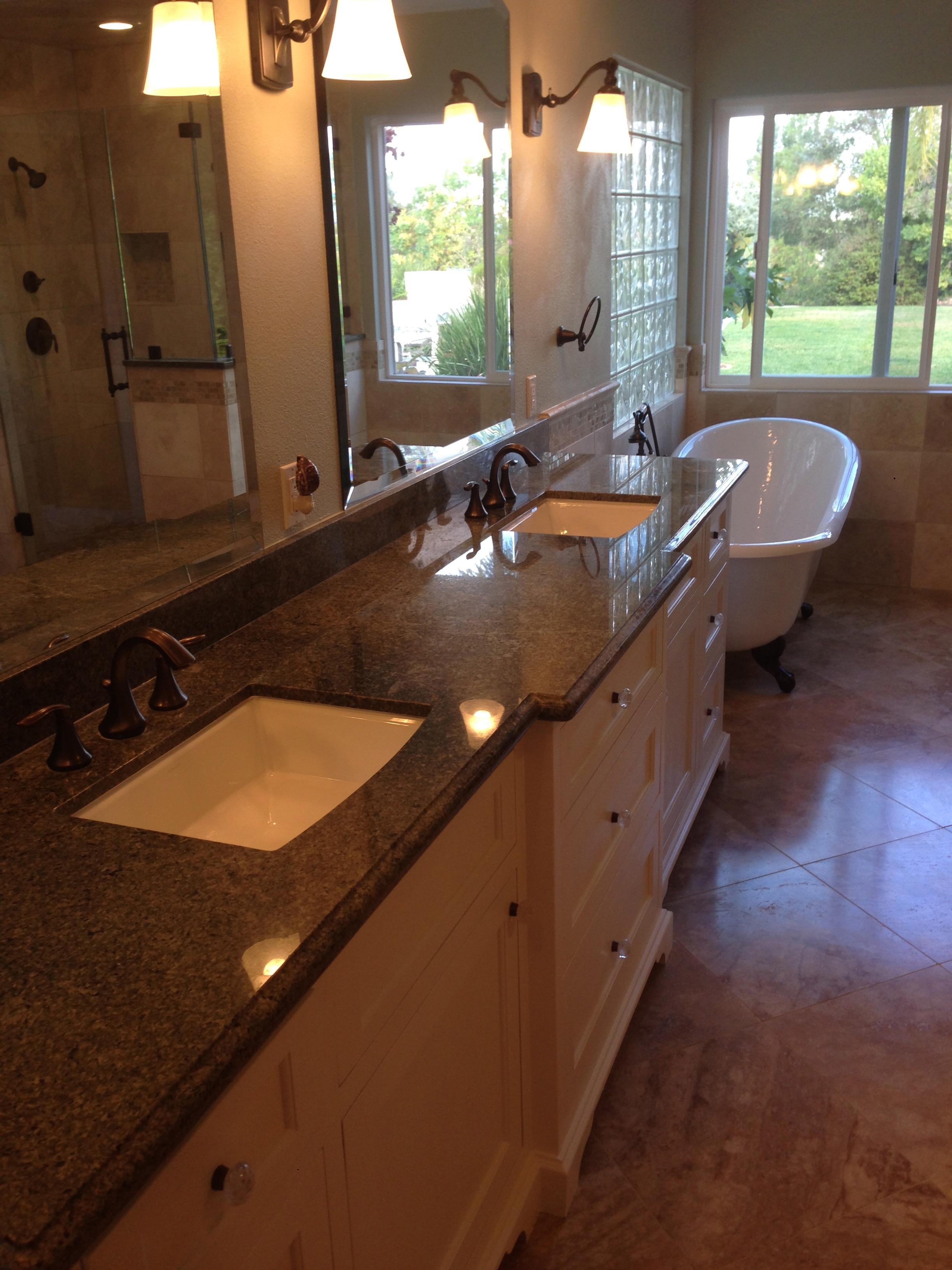 Bathroom Remodel West Lake Village General Contractor CA - Minor bathroom remodel